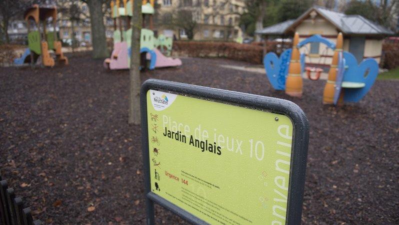 Neuchâtel: un jeune homme retrouvé la tête en sang au Jardin anglais