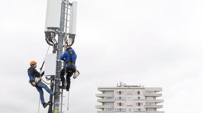 Deux antennes 5G viennent d'être mises en service à Neuchâtel et La Chaux-de-Fonds