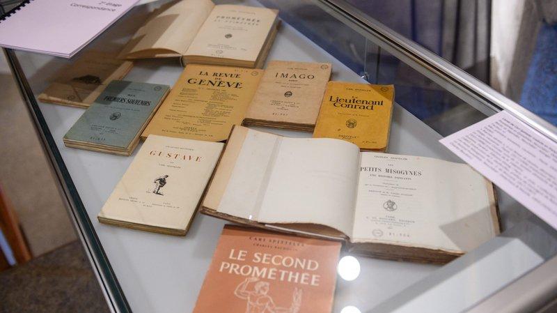 L'année du centenaire de son prix Nobel a permis de rajeunir un peu la production éditoriale liée à Carl Spitteler.