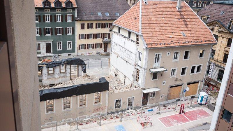 La démolition de l'ancienne quincaillerie Kaufmann finit devant le tribunal