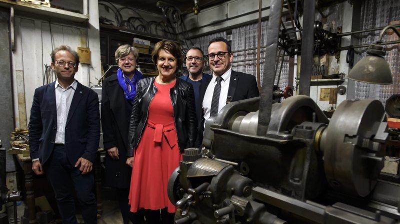 La 10e Biennale a bien démarré vendredi à La Chaux-de-Fonds