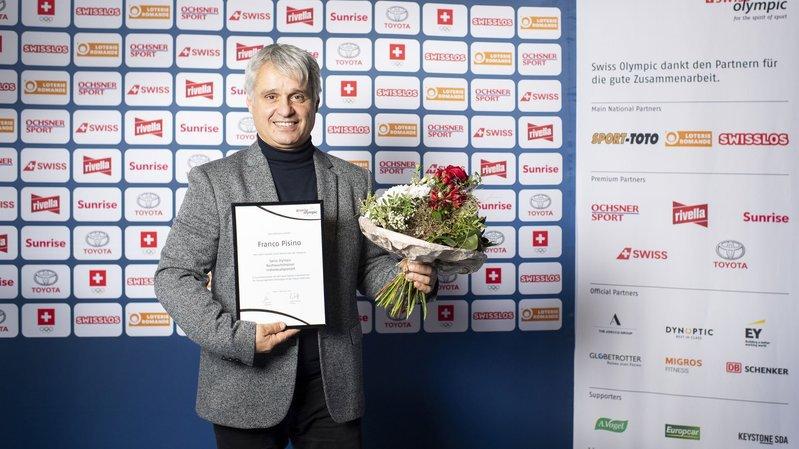 Franco Pisino a reçu son prix à Macolin.