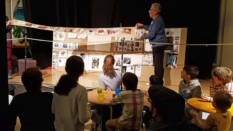 Plusieurs ateliers créatifs ont été organisés mercredi après-midi.