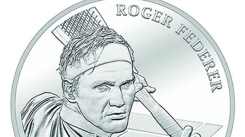 Roger Federer va figurer sur une pièce de monnaie commémorative
