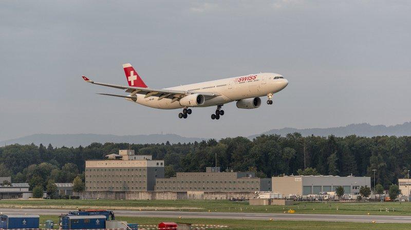Trafic aérien: les vols sont responsables de 12% des émissions de CO2 en Suisse