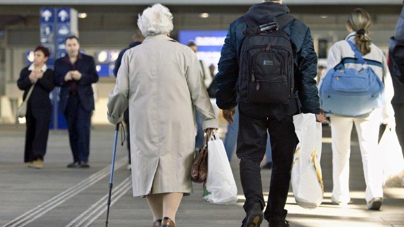 Economie: plus les Suisses vieillissent, plus la croissance du pays est affectée