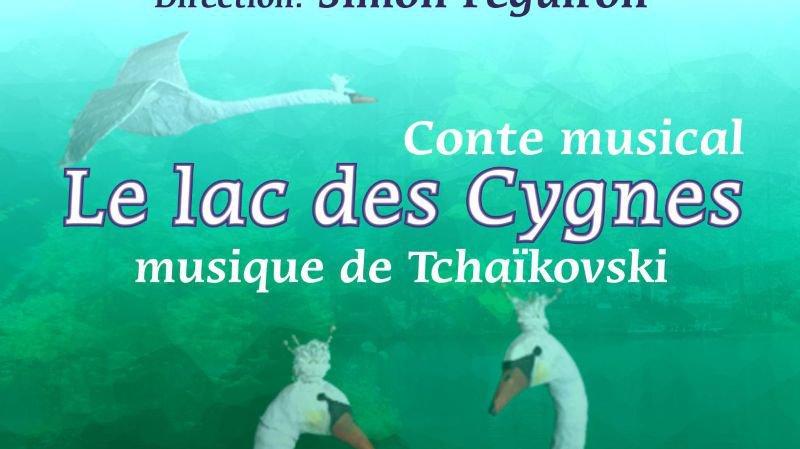 Le Lac des Cygnes conte musical  avec marionnettes