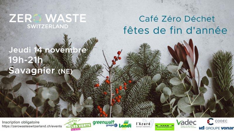 Café Zéro Déchet fêtes de fin d'année