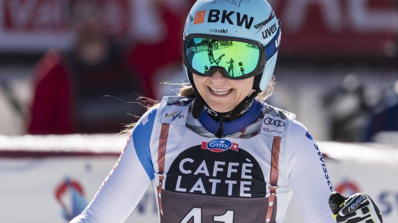 Ski alpin – Coupe du monde: la Grisonne Luana Flütsch blessée au genou droit