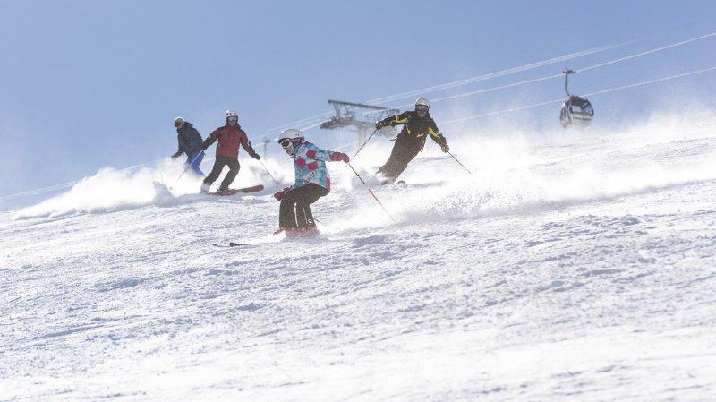 Ouverture précoce des stations deskigrâce aux chutes de neige