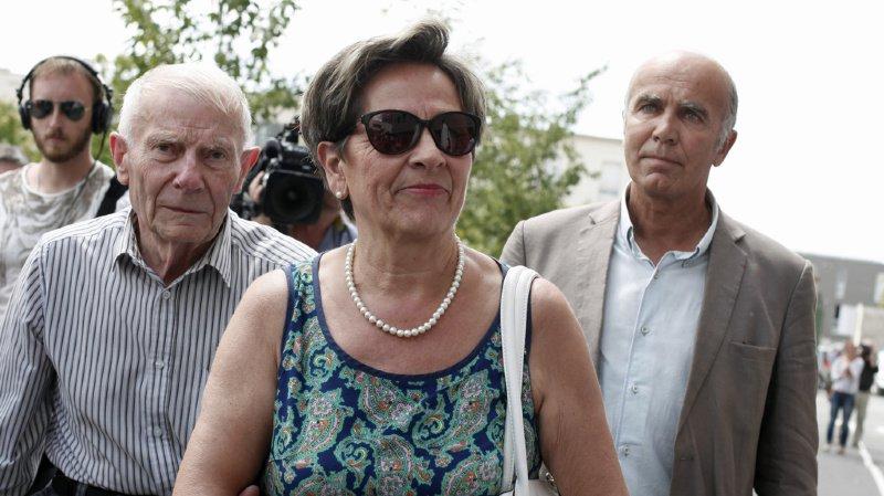 Les parents de Vincent Lambert (deuxième et troisièmes depuis la gauche) ont assigné le médecin qui avait décidé de l'arrêt des soins de leur fils. (illustration)