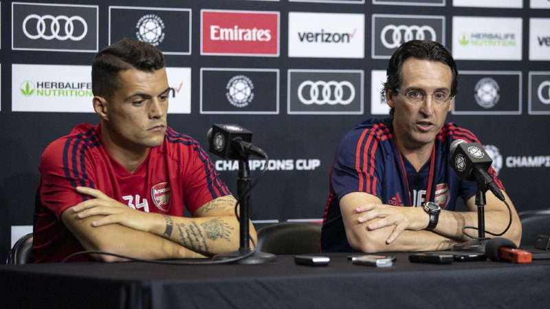 Football: Unai Emery n'est plus l'entraîneur de Granit Xhaka et d'Arsenal