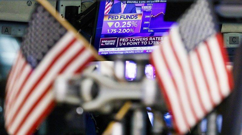 La croissance économique américaine commence à ralentir alors qu'elle est dans sa onzième année d'expansion. (ILLUSTRATION)