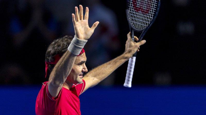Tennis: Federer en finale des Swiss Indoors de Bâle