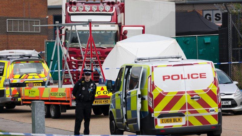Grande-Bretagne: les 39 victimes retrouvées dans le camion charnier seraient vietnamiennes