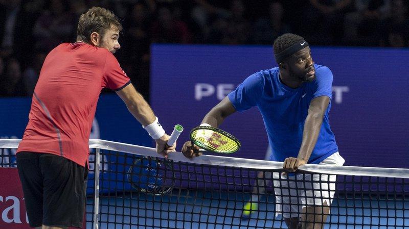 Le Vaudois s'est blessé au dos lors du dernier jeu de son huitième de finale contre Frances Tiafoe.