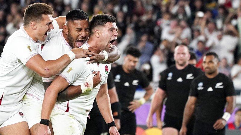 Mondiaux de rugby au Japon: l'Angleterre élimine les All Blacks en demi-finale!