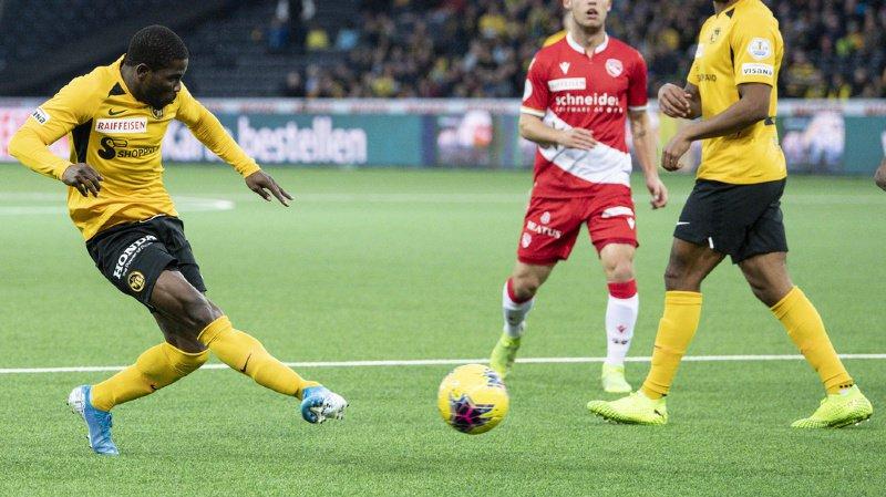Football: YB prend la tête, Xamax se donne de l'air