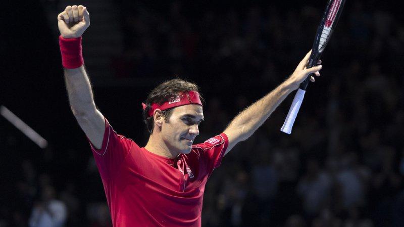 Tennis: pour Roger Federer, cette dixième victoire était «dingue!»