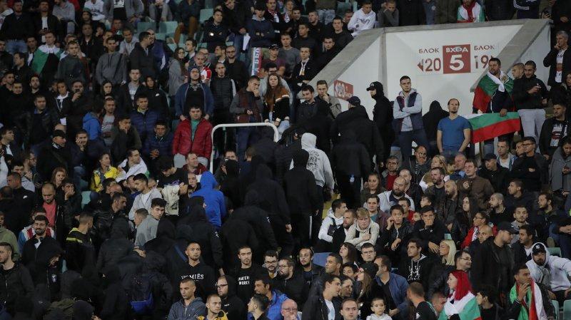 Une frange du public présent dans le stade à Sofia s'en était pris verbalement aux joueurs noirs de l'équipe anglaise.