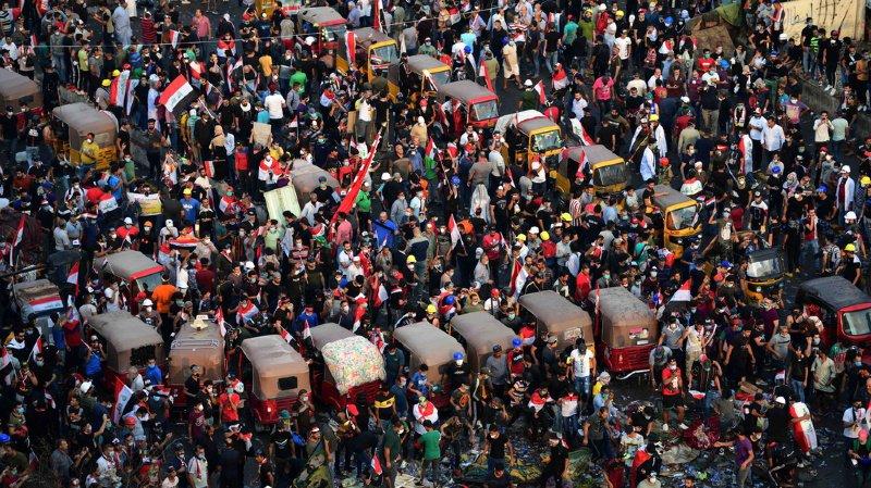 La première semaine de manifestations du 1er au 6 octobre a été marquée par la mort de 157 personnes.