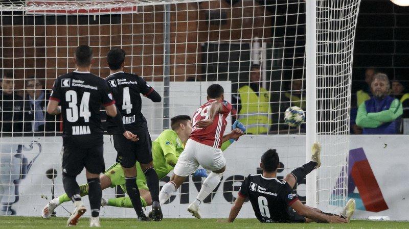 Le FC Bâle a gagné in extremis face au Stade-Lausanne-Ouchy mercredi soir.