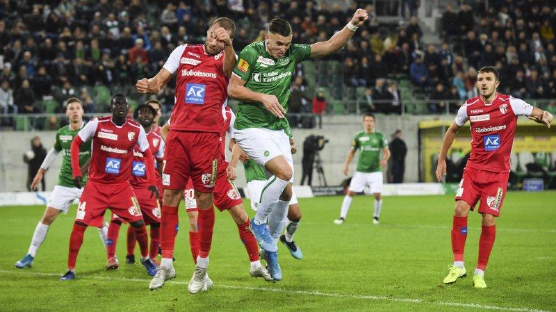 Super League: Le FC Sion largement battu par Saint-Gall, Zurich s'impose à Thoune