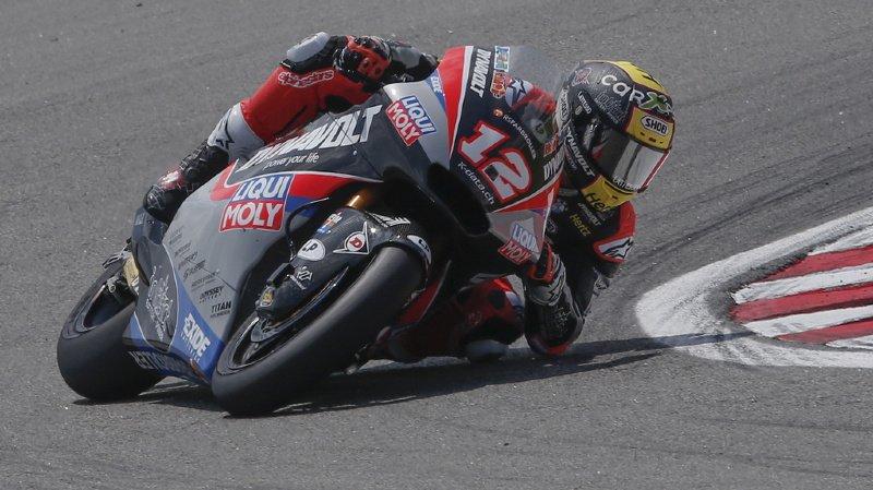 Malgré une belle course et un nouveau podium, Tom Lüthi n'a rien pu faire face à la régularité d'Alex Marquez.
