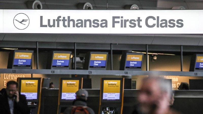 Allemagne: Lufthansa annonce la suppression de 1300 vols jeudi et vendredi