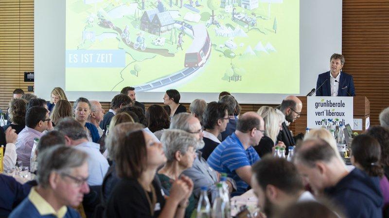 """Les Vert'libéraux entendent exiger des """"réformes rapides, ambitieuses et progressistes"""", a annoncé samedi leur président Jürg Grossen."""