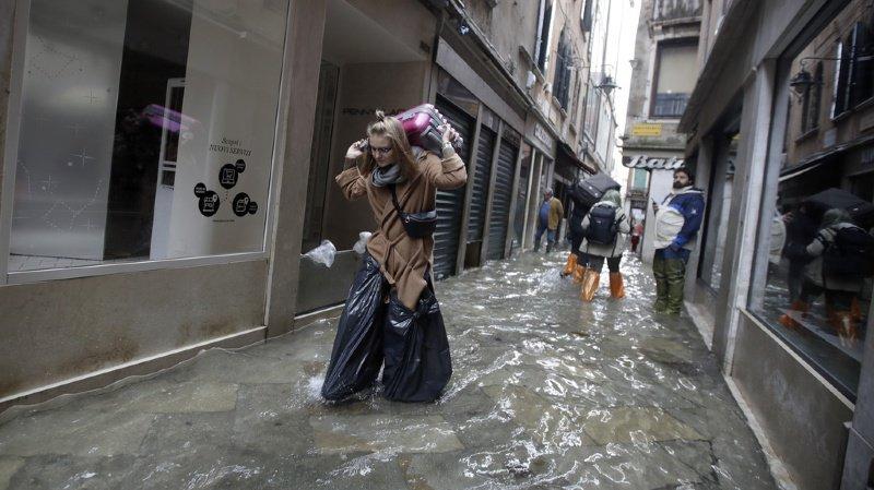 Italie: l'état de catastrophe naturelle décrété à Venise