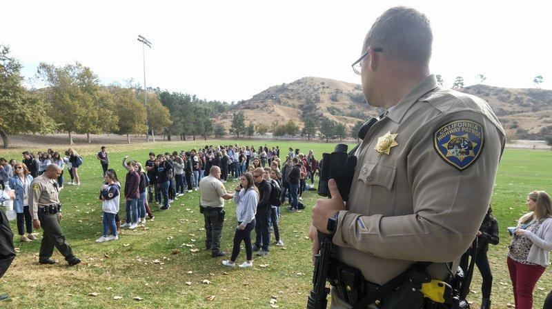 Les victimes du lycée Saugus de Santa Clarita avaient été évacuées en même temps que le tireur.