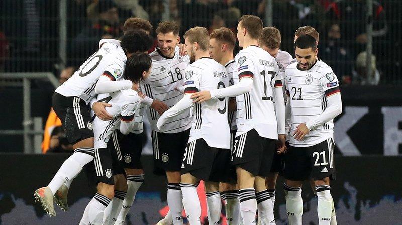 Les Allemands ont battu le Bélarus 4-0 et peuvent désormais planifier le tournoi final.