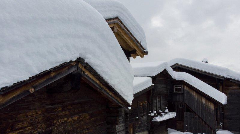 La région du Simplon va fortement être touchée par les chutes de neige. (Illustration)