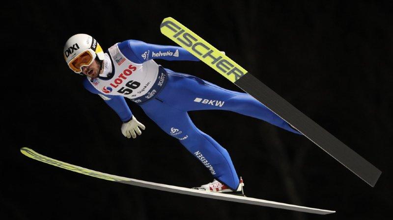 Saut à ski – Killian Peier tire l'équipe de Suisse au septième rang