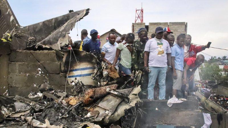 Un petit avion s'écrase sur un quartier populaire deGoma: au moins 29 morts