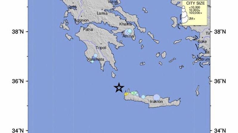 Grèce: après l'Albanie, un séisme de magnitude 6,1 secoue l'île de Crète, aucune victime