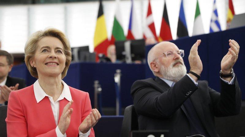 Ursula von der Leyen prendra ses fonctions dimanche.