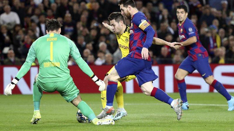 Football – Ligue des champions: Barcelone trop fort pour le Borussia Dortmund