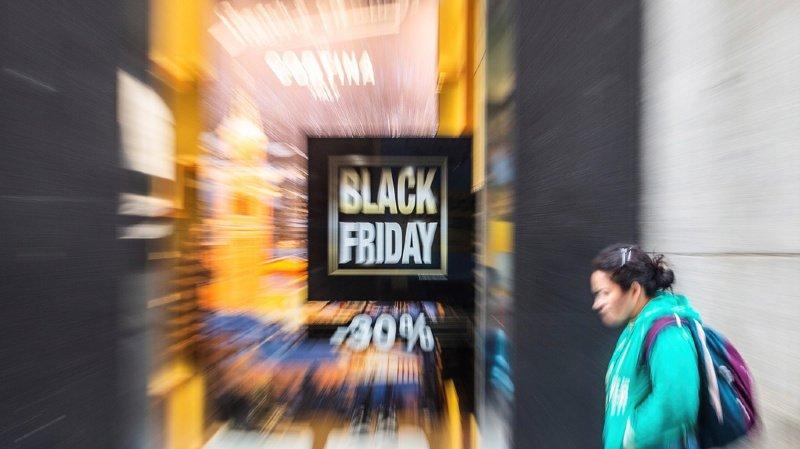Black Friday: la fréquentation en ligne et dans les magasins augmente en Suisse