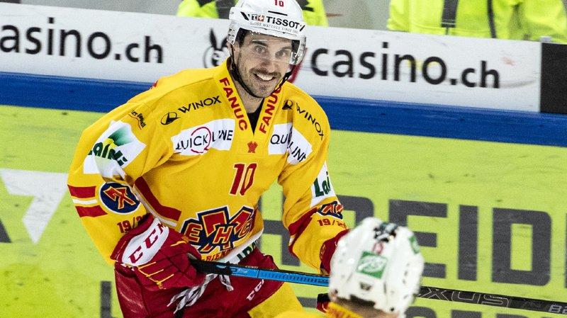 Hockey: Bienne bat Zoug en prolongation