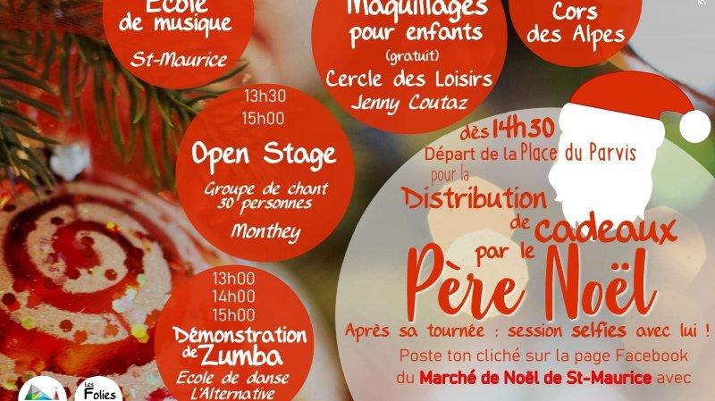 Marché de Noël de Saint-Maurice