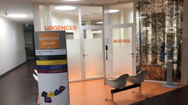 Le nouveau visage des urgences de l'hôpital Pourtalès.