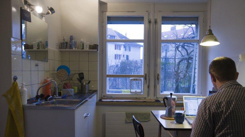 Plus d'un tiers des 3,7 millions de ménages en Suisse est composé d'une seule personne. (illustration)
