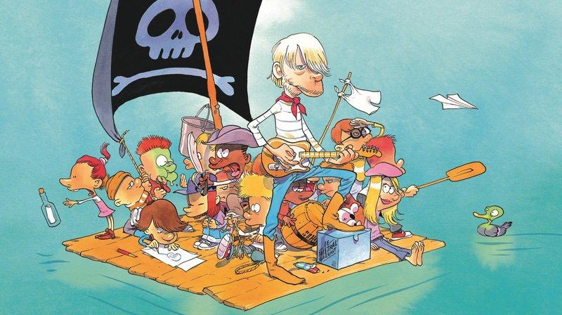 Renaud: le nouvel album, «Les mômes et les enfants d'abord», est illustré par le dessinateur suisse Zep