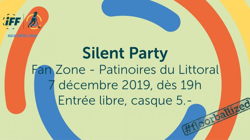 Silent Party du Championnat du monde de unihockey