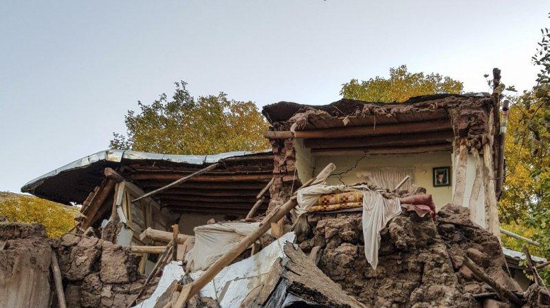 Un séisme de magnitude 5,9 frappe l'Iran