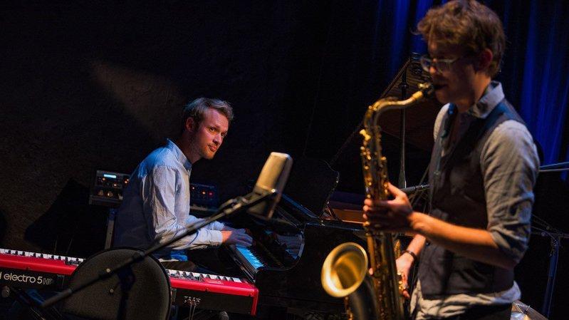 Le pianiste Jérôme Jeanrenaud et le saxophoniste Nicolas Gurtner sont à la base des Rencontres arrangées.