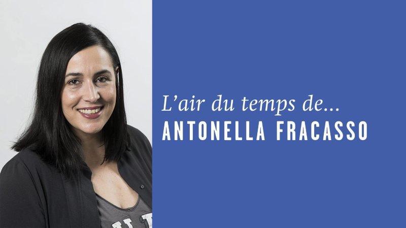 «Femmes et hommes battus, même combat», l'Air du temps d'Antonella Fracasso