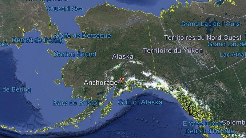 Alaska: une ville a établi le même jour un record de chaleur et de chute de neige